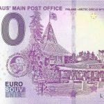0 EURO SOUVENIR santa claus main post 2018-2 finland arctic circle