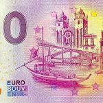 0 euro Porto 2020-1 zero euro souvenir banknotes portugal