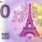 0 euro Tour Eiffel 2020-6 zero euro france banknote