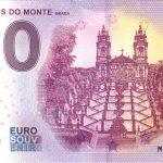 0 euro banknote BOM JESUS DO MONTE 2019-1 zero euro souvenir portugal