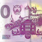 0 euro banknote Gruyere 2020-1 zero euro souvenir france