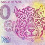 0 euro banknote Parc Zoologique de Paris 2020-7 zero euro souvenir france