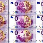 0 euro india - mahatma gandhi 150th anniversary 2020 banknotes