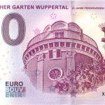 0 euro schein Botanischer Garten Wuppertal 2019-1 germany banknote
