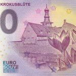 0 euro schein Husumer Krokusblüte 2020-1 anniversary zero euro banknotes germany