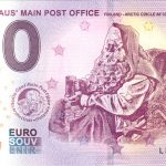 0 euro schein santa claus main post office finland arctic circle 2018-1