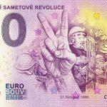 0 euro souvenir 2019-1 30 vyroci sametove revoluce zero euro banknote