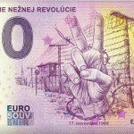 0 euro souvenir 30. vyrocie neznej revolucie 2019-3 zero euro slovakia
