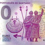 0 euro souvenir Caminho Portugués de Santiago 2019-1 zero euro banknote