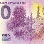 0 euro souvenir Canada – Banff National Park 2019-1