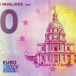0 euro souvenir Dome des Invalides 2020-6 zero euro banknote