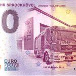 0 euro souvenir Feuerwehr Sprockhövel 2019-1 zero euro germany