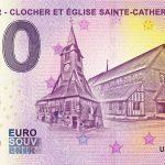 0 euro souvenir Honfleur – Clocher et Église Sainte-Catherine