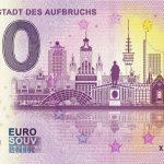 0 euro souvenir Leipzig – Stadt des Aufbruchs 2019-1 zero euro schein