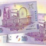 0 euro souvenir London 2020-1 anniversary england great britain banknotes schein billet set
