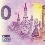 0 euro souvenir Lourdes 2019-2 zero euro banknote billet france