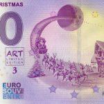 0 euro souvenir Merry Christmas 2020-1 zeroeuro banknote Holland
