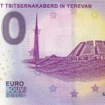 0 euro souvenir Monument Tsitsernakaberd in Yerevan 2019-1