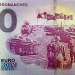 0 euro souvenir Musée D´Arromanches 2018-1 france billet banknote