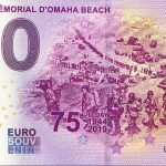0 euro souvenir Musée Mémorial D'Omaha Beach 2019-2