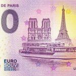0 euro souvenir Vedettes de Paris 2019-1 france billet schein