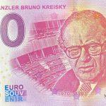 0 euro souvenir banknote Bundeskanzler Bruno Kreisky 2020-1