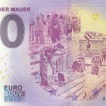0 euro souvenir banknote Der Bau der Mauer 2020-5 Anniversary germany