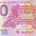 0 euro souvenir banknote Imatra Finland – Go Saimaa and Vuoksi 2020-1 ND