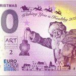 0 euro souvenir banknote Merry Christmas 2020-1 Malta