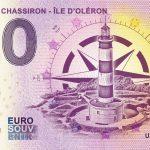 0 euro souvenir banknote Phare de Chassiron - Ile D´Oléron 2020-2 zero euro france