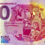 0 euro souvenir banknote germany Das Begrussungsgeld 2020-6 Anniversary