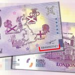0 euro souvenir banknotes London 2020-1 GBAA 1st Limited Edition 2021-1 set