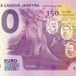 0 euro souvenir bankovka Dobšinská Ľadová Jaskyňa 2020-2 zero euro slovensko