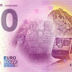 0 euro souvenir bankovka hrebienok vysoke tatry 2020-2 zeroeuro slovensko