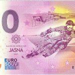 0 euro souvenir bankovka jasna 2020-1 zeroeuro slovensko
