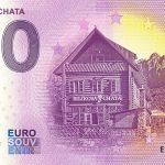 0 euro souvenir bilikova chata 2021-3 zeroeuro bankovka slovensko high tatras