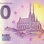 0 euro souvenir brno 2019-1 katedrala sv. petra a pavla czech republic