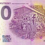 0 euro souvenir dominik skutecky 2020-1 skutezky bankovka slovensko
