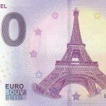 0 euro souvenir france Tour Eiffel 2019-4 billet