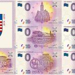 0 euro souvenir kosice 2018 2019 slovensko zero euro bankovka kosicky set