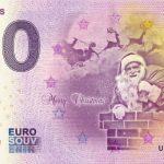 0 euro souvenir merry christmas 2018-1 zero schein billet banknote