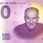 0 euro souvenir musee louis de funes 2020-2 zeroeuro banknote france