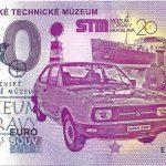 0 euro souvenir slovenske technicke muzeum 2019-1 pečiatka zero euro slovakia