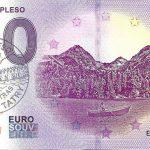 0 euro souvenir slovensko Štrbské pleso 2018-1 vysoke tatry 0€ banknote slovakia