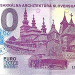 0 euro souvenir slovensko Drevená sakrálna architektúra Slovenska 2019-1 peciatka C