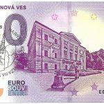 0 euro souvenir slovensko Spišská Nová Ves 2019-1 slovakia banknote peciatka
