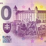 0 euro souvenir slovensko bratislava 2019-2 banknote slovakia