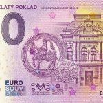 0 euro souvenir slovensko kosicky zlaty poklad 2019-2 golden treasure slovakia banknote