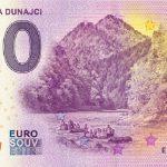 0 euro souvenir slovensko pltnici dunajec 2019-1 slovakia banknote