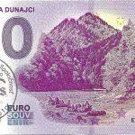 0 euro souvenir slovensko pltnici dunajec 2019-1 slovakia banknote peciatka